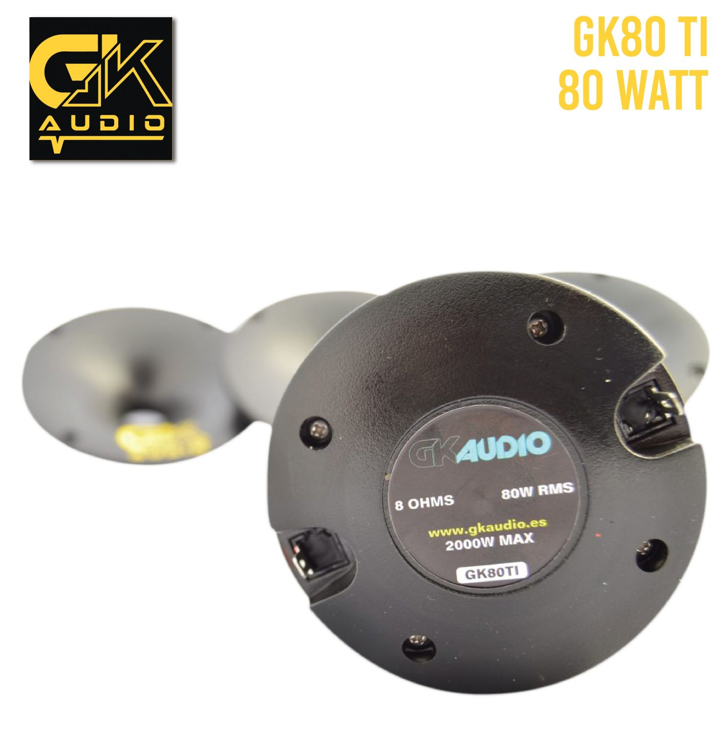 GK Audio 80TI + DIFUSOR