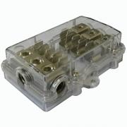 Distribuidor de Corriente portafusibles 25mm