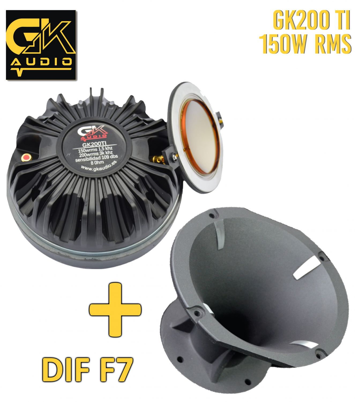 GK Audio 200FE + DIFUSOR F7