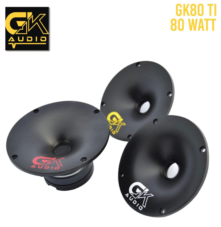 GK Audio 80TI + DIFUSOR