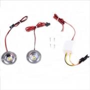 Kit Flash estroboscopicos 2 LED